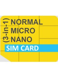 Global Roaming (3-in-1) SIM Card