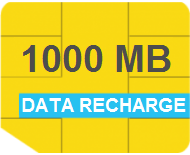 Data Recharge (1000MB - 30 Days)
