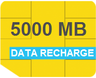 Data Recharge (5000MB - 30 Days)